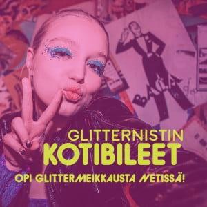 OPI GLITTERMEIKKAUSTA NETISSÄ
