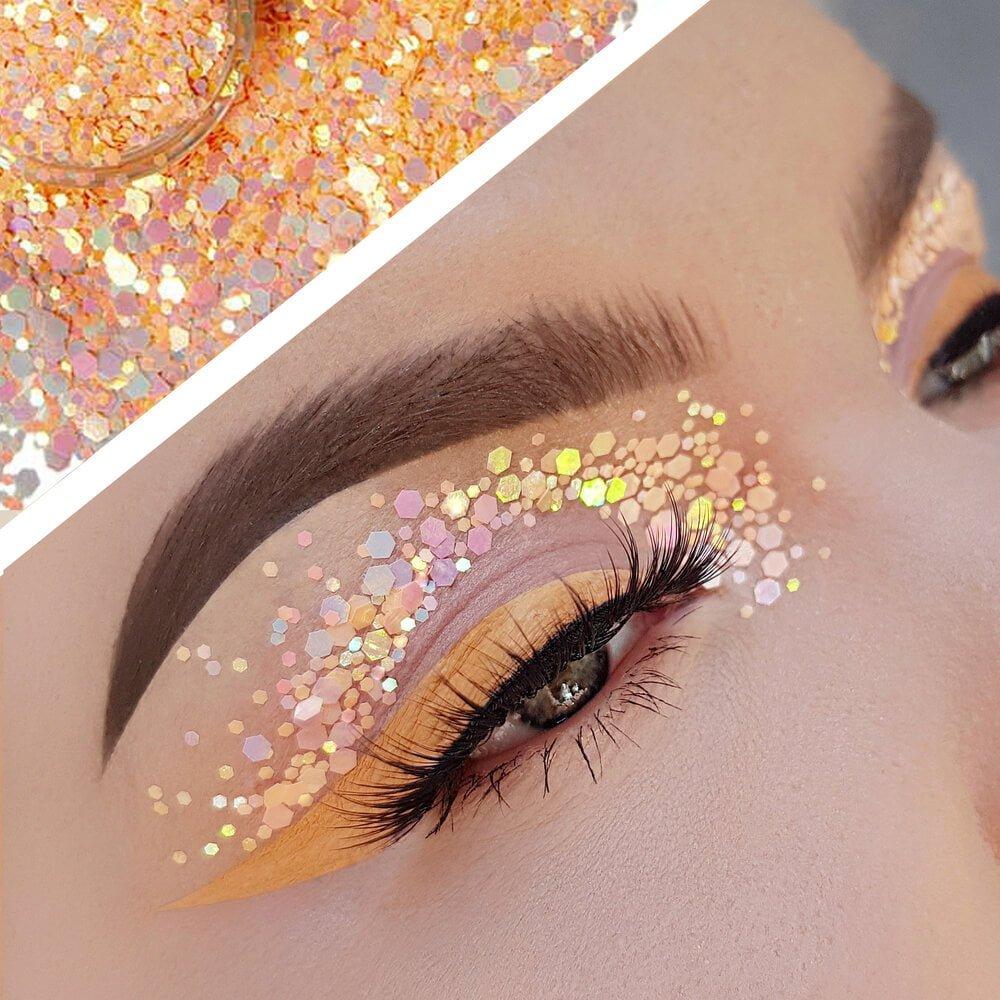 Bangtsikitsiki peach please cosmetic glitter