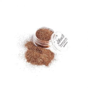 Only Toffee cosmetic glitter is warm toned bronze glitter.