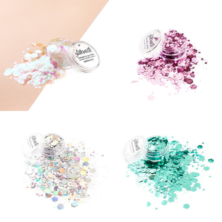 XL glitter set includes super chunky glitters