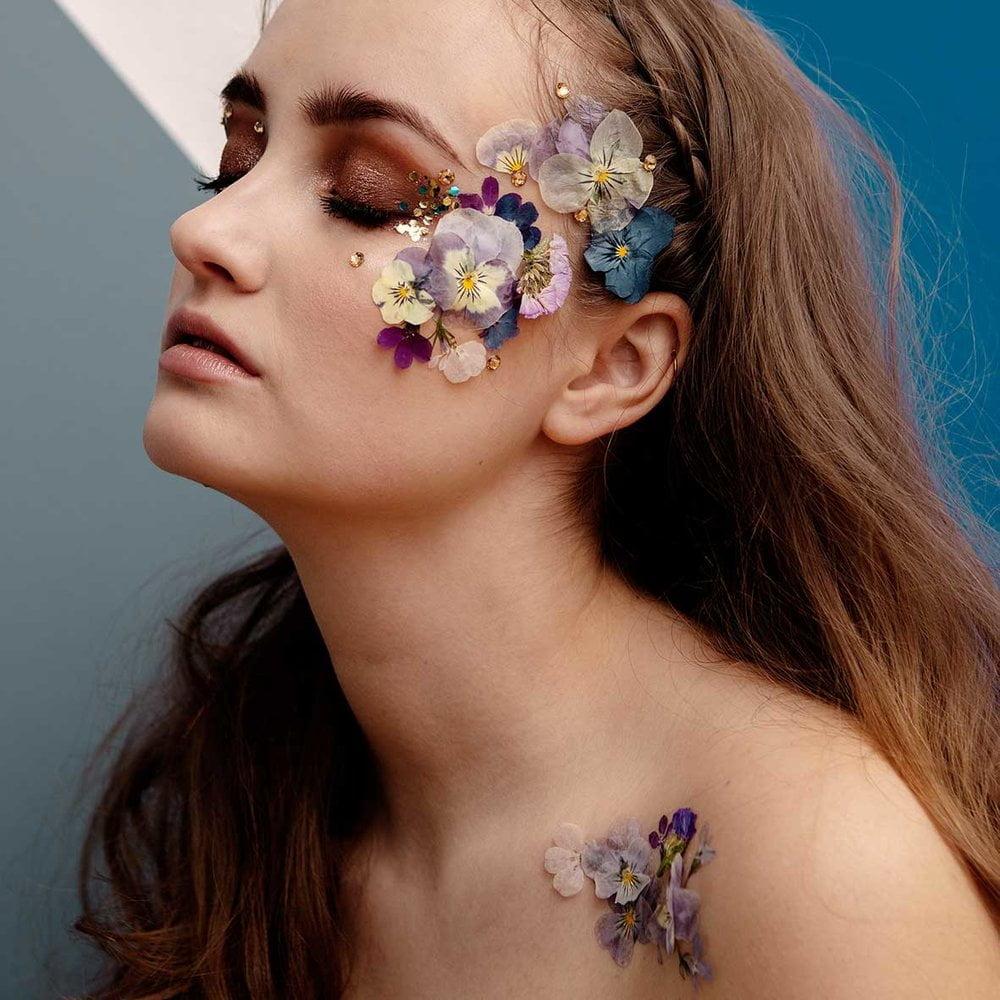 face florals kasvokukat