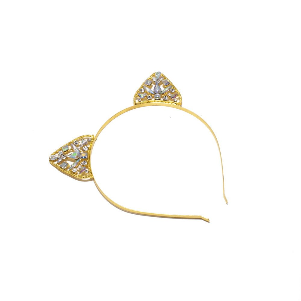 timantti koristeinen hiuspanta.