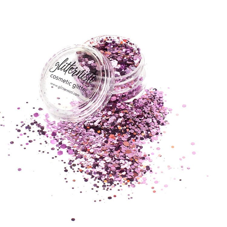 pink cosmetic glitter for face glitter makeup
