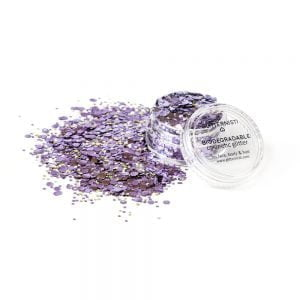 eco cosmetic glitter sparkly violets