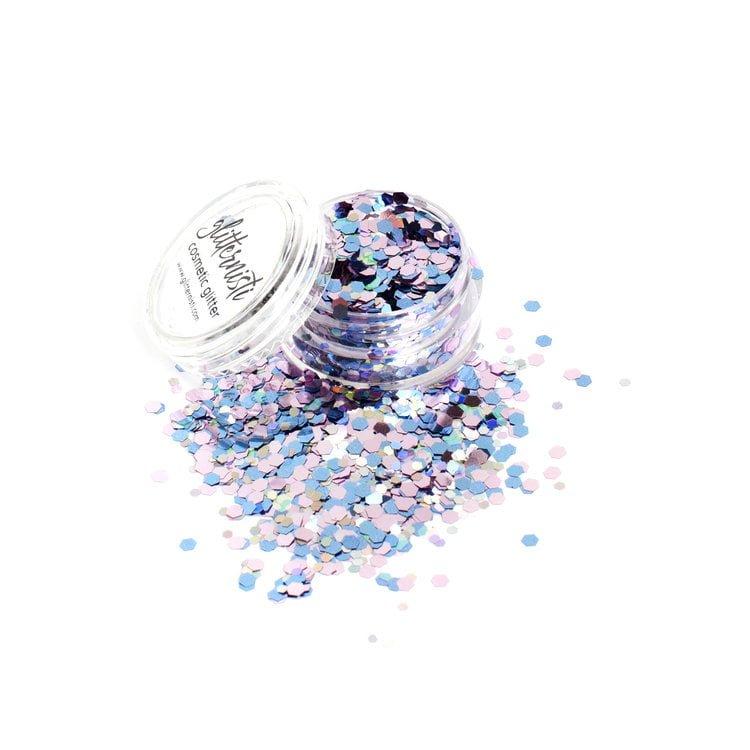 unicorn pastel cosmetic glitter