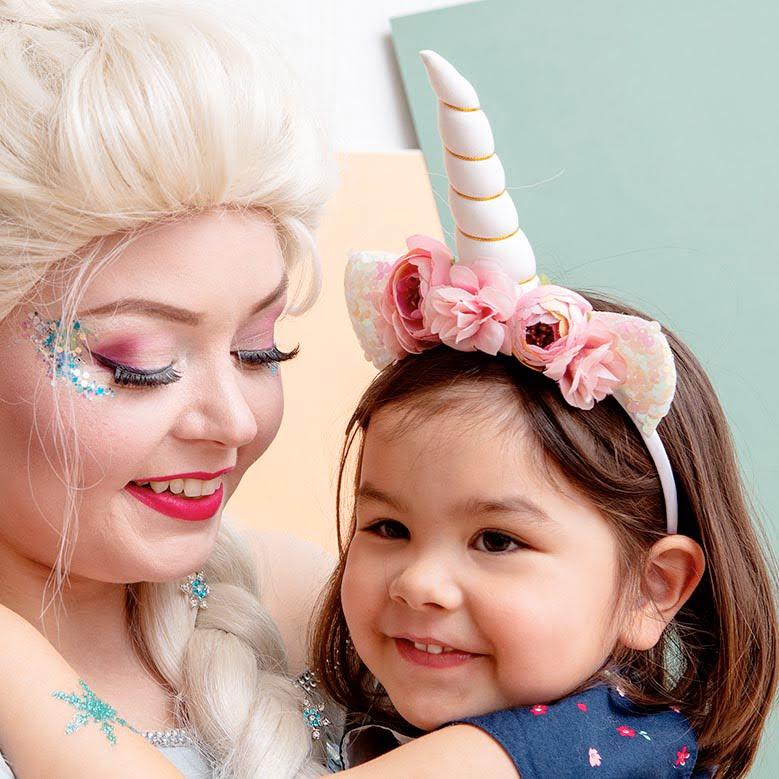 Glitter sopii myös lapsille!