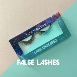 Our collection of false lashes