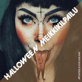 Halloween meikkikilpailu