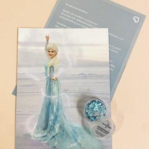 Kirje Prinsessalta Lumikuningatar -versio.