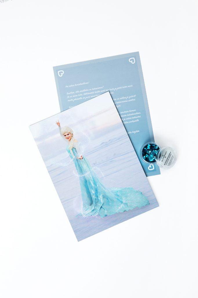 Kirje Prinsessalta - Lumikuningatar.