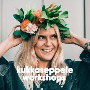 Kukkaseppele workshops